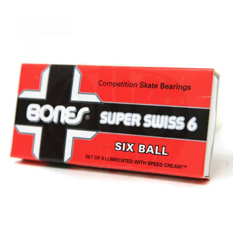 Bones Super Swiss 6 Competition Skate Bearings