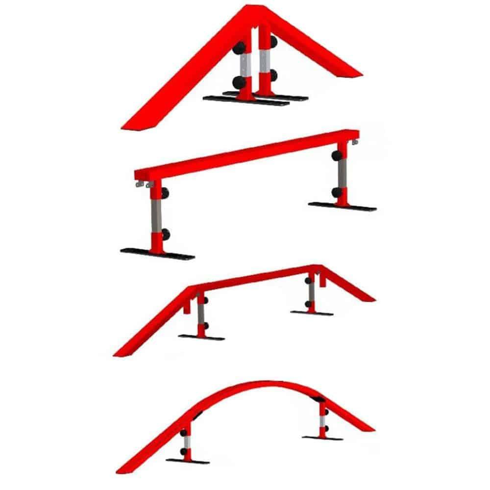 Make adjustable legs