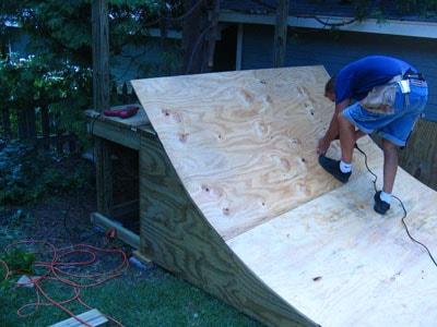 Sealing the ramp