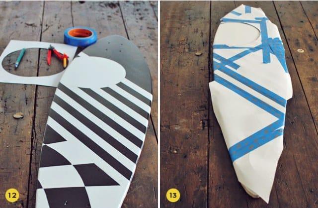 Sealing the skateboard