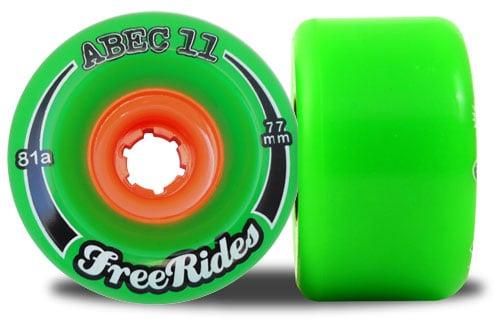 ABEC 11 Freeride Centerset Green