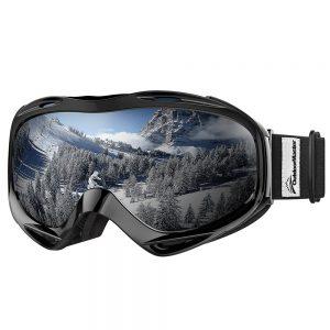 Designed and Developed in United States Ski /& Snowboard Goggles with Premium Toric Mag-Lens System /& OTG Design KHUNO Jaeger Ski Goggles