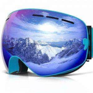 Ski OTG Anti-Fog moblie Interchangeable Double Layer