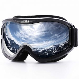 Juli Winter Snow Sports with Anti-Fog UV Protection Double Lens