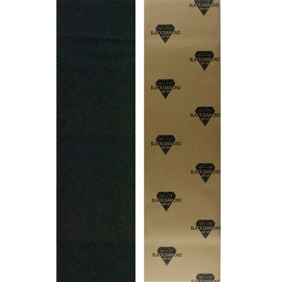 Black Diamond Longboard Skateboard Grip Tape Sheet