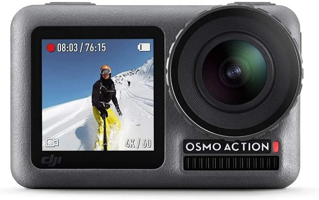 DJI Osmo Action - 4K Action Cam 12MP Digital Camera