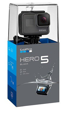 GoPro Hero5 Black — Waterproof Digital Action Camera for Travel with Touch Screen