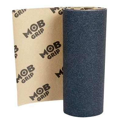 Mob Skateboard Grip Tape Sheet 33 Long X 9 Wide - No Bubble Application 3 Sheets